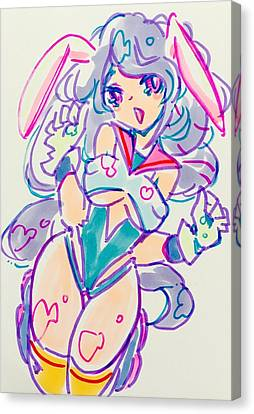 Canvas Print - Girl02 by Kirin Yotsuya
