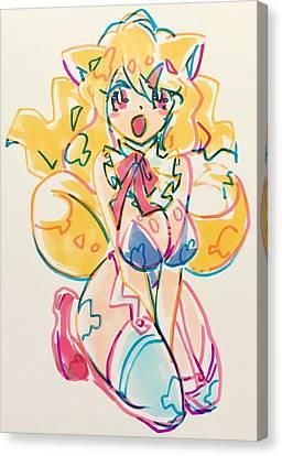 Canvas Print - Girl03 by Kirin Yotsuya