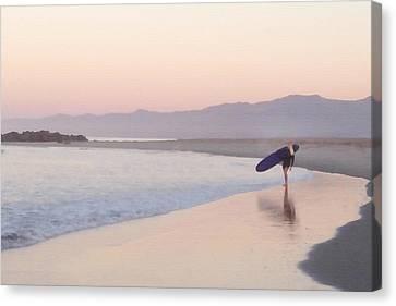 Girls Surf Too Canvas Print