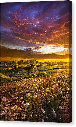 Give Me A Reason To Believe Canvas Print