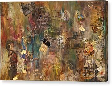 Give Me Wonderland Canvas Print by Simonne Mina