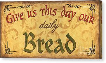 Give Us This Day Canvas Print by Debbie DeWitt
