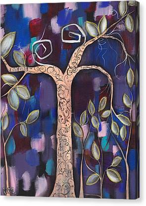 Giver Of Life Canvas Print by  Abril Andrade Griffith