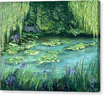 Giverny Canvas Print by Gail Kirtz
