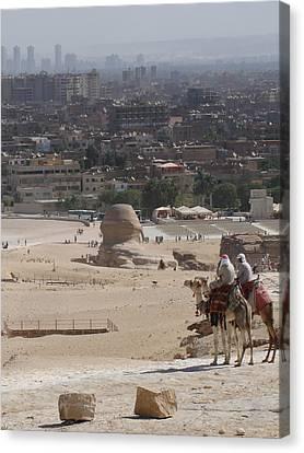 Giza To Cairo Canvas Print