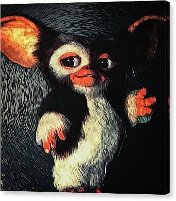 Gizmo Canvas Print by Taylan Apukovska