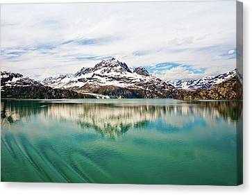Glacier Bay In Alaska Canvas Print