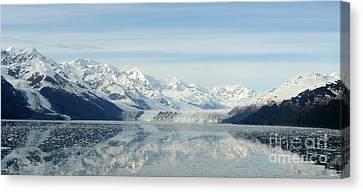 Glacier Bay Reflections Canvas Print by Susan Lafleur