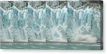 Glacier Calving Sequence 2 V1 Canvas Print by Robert Shard