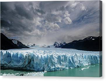 Glacier Front Canvas Print