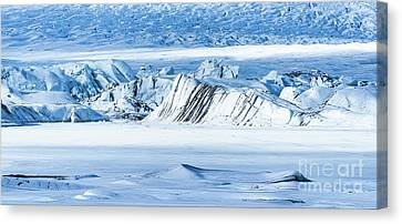Glacier Ice Rocks Canvas Print by Svetlana Sewell