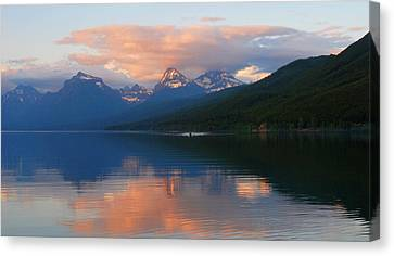 Glacier Lake Canvas Print