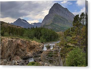 Glacier National Park Landscape Canvas Print
