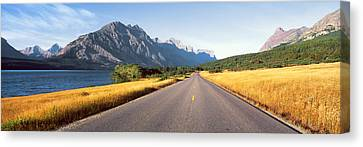 Glacier National Park, Montana Canvas Print by Panoramic Images