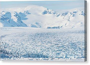 Glacier Patterns Canvas Print by Svetlana Sewell