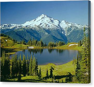 1m4422-glacier Peak, Wa  Canvas Print