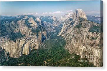 Glacier Point Yosemite Np Canvas Print by Daniel Heine