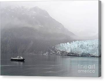 Glacier Ride Canvas Print by Zawhaus Photography