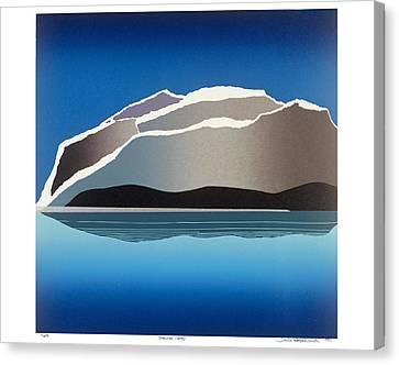 Glaciers Canvas Print by Jarle Rosseland