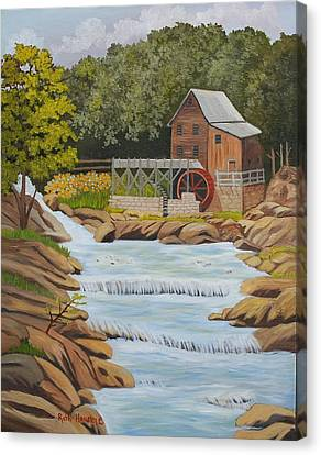 Glade Creek Grist Mill West Virginia Sold Canvas Print by Ruth  Housley