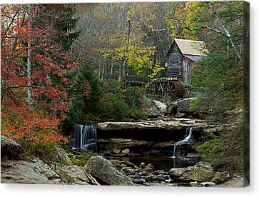 Glade Creek Mill Canvas Print by Jonas Wingfield