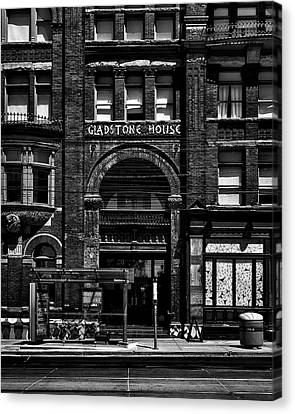 Canvas Print featuring the photograph Gladstone Hotel Toronto Canada No 1 by Brian Carson