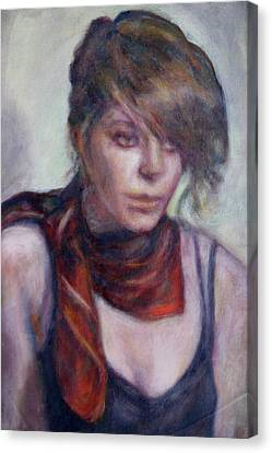 Modern Glamour  - Sale On Original Painting Canvas Print by Quin Sweetman