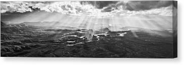 Glance From The Heavens II Canvas Print