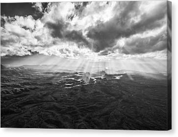 Glance From The Heavens Canvas Print
