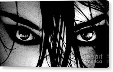 Glare Canvas Print by Tbone Oliver
