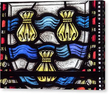 Canvas Print - Glasgow Cathedral Stained Glass by Jean Noren