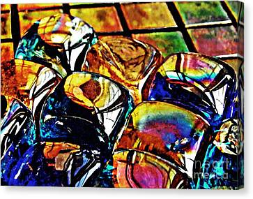 Glass Abstract Canvas Print by Sarah Loft