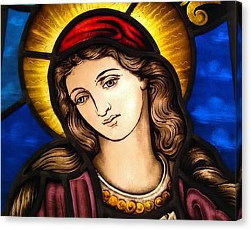 Virgin Mary, Mother Of Jesus Canvas Print