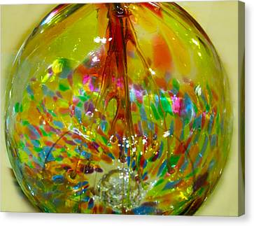 Glass Balloon Canvas Print by ARTography by Pamela Smale Williams