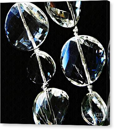 Glass Beads Canvas Print