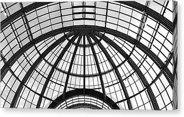 Canvas Print featuring the photograph Glass Dome by Corinne Rhode