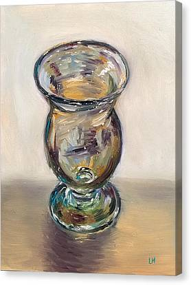 Glass Goblet Canvas Print