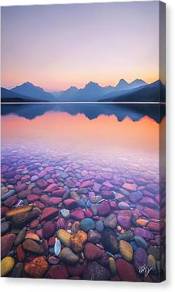 Canvas Print - Glass Morning by Peter Coskun