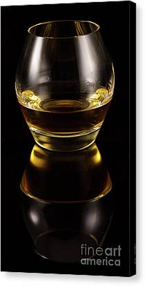Glass Of Whiskey Canvas Print