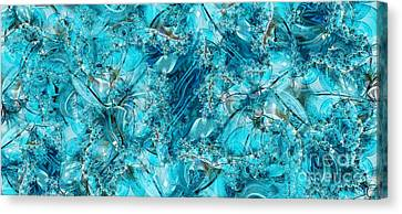 Glass Sea Canvas Print