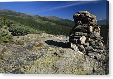 Glen Boulder Trail - White Mountains New Hampshire Usa Canvas Print by Erin Paul Donovan