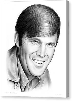 Glen Campbell Canvas Print