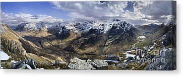 Glencoe - Scotland Canvas Print by Rod McLean