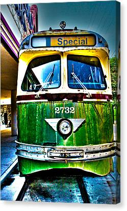 Glen Echo Trolley Canvas Print by Charlie Parker