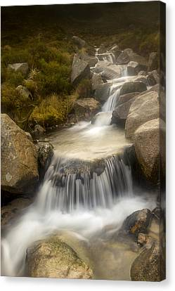 Glen River Nearer To The Source Canvas Print