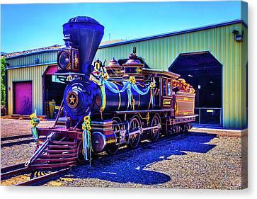 Glenbrook Ginerbread Locomotive Canvas Print