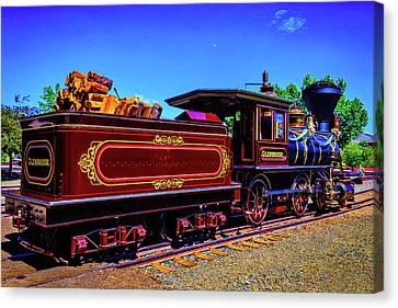 Glenbrook Ginerbread Train Canvas Print