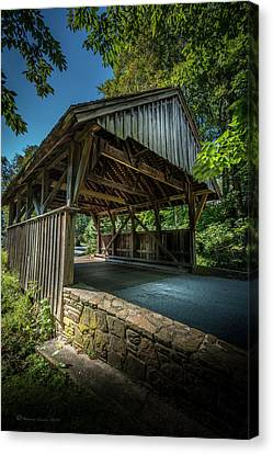 Glenbrook Lane Canvas Print by Marvin Spates