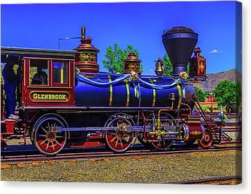 Glenbrook Train Carson City Canvas Print