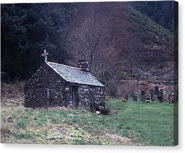 Glencoe Chapel Canvas Print